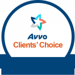 Avvo Client's Choice Award to Stephanie Haslam of Compassionate Legal Care - Life Planning, Wills, Powers of Attorney, Estate Planning, Guardianships, and Elder Law in Seattle